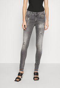 Replay - NEW LUZ - Jeans Skinny Fit - medium grey - 0