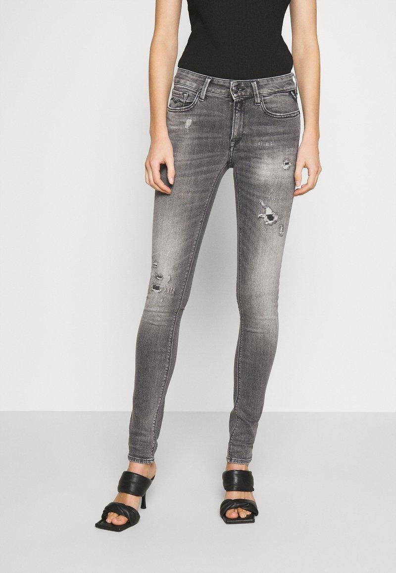 Replay - NEW LUZ - Jeans Skinny Fit - medium grey