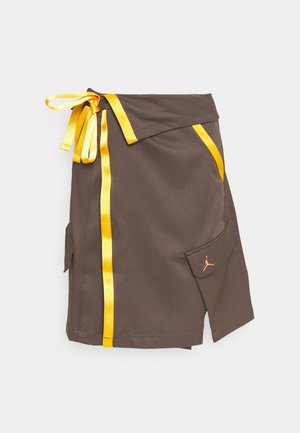 UTILITY SKIRT FUTURE - A-line skirt - ironstone/red bronze