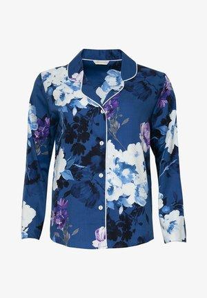 Pyjama top - blue floral