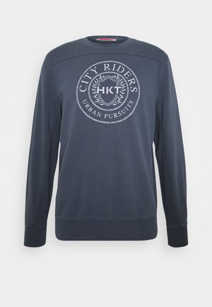 GRAPHIC CREW - Sweatshirt - mid blue