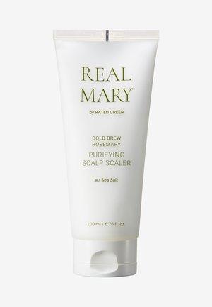 REAL MARY PURIFYING SCALP SCALER (SEA SALT) - Hårpleje - -