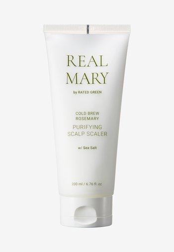 REAL MARY PURIFYING SCALP SCALER (SEA SALT) - Hair treatment - -