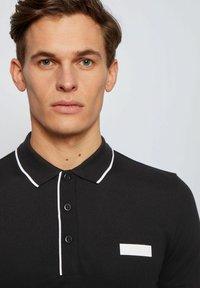 BOSS - PAUL BATCH - Polo shirt - black - 3
