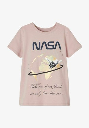 NKFNASA  - T-shirt med print - adobe rose