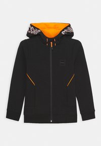 BOSS Kidswear - CARDIGAN ZIP - Zip-up hoodie - black - 0