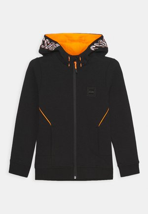 CARDIGAN ZIP - Sweatjacke - black