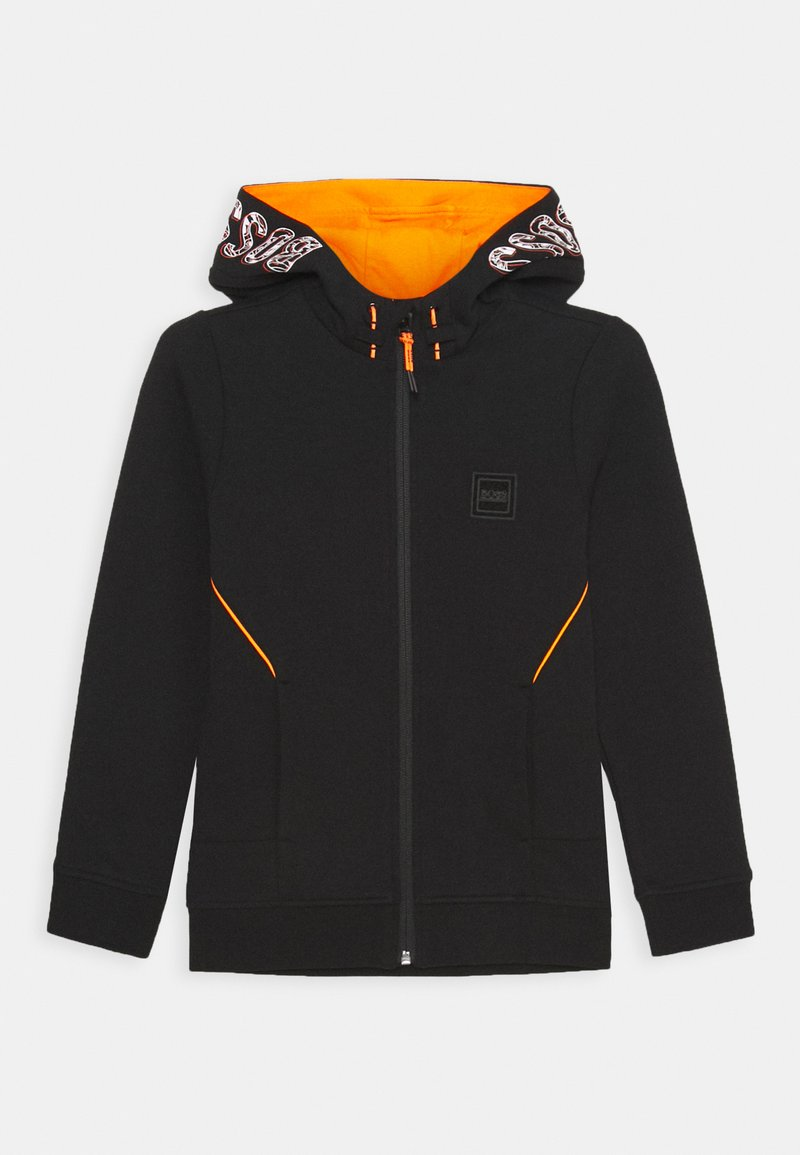 BOSS Kidswear - CARDIGAN ZIP - Zip-up hoodie - black