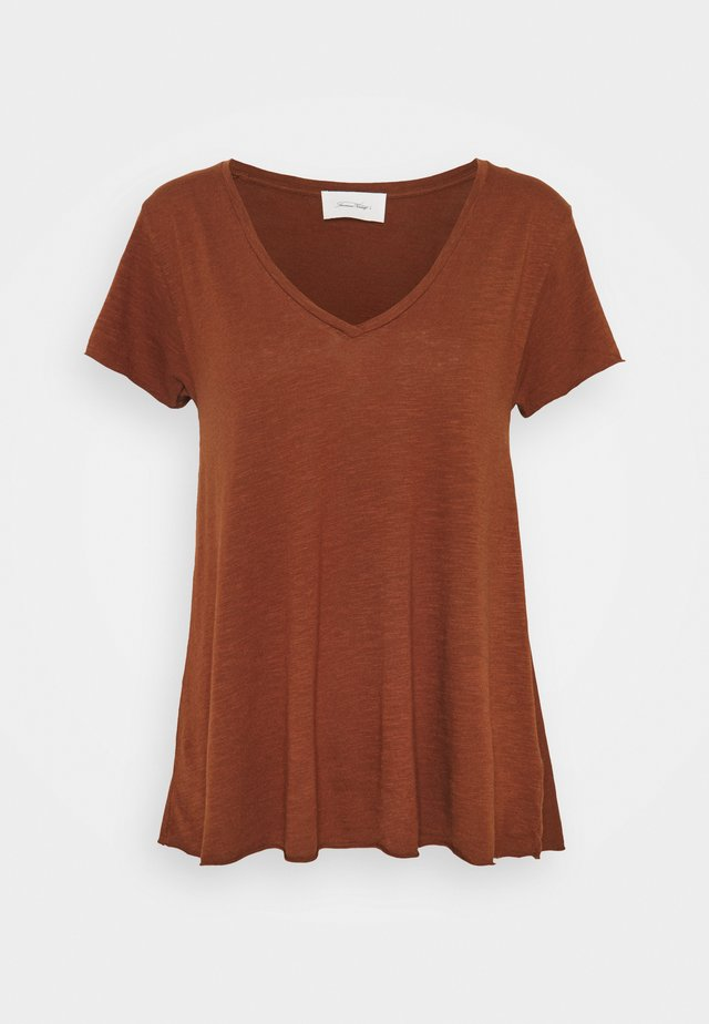 JACKSONVILLE - Basic T-shirt - vintage auburn