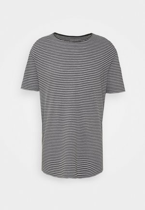 ELLIOT CREW - T-shirt print - black/white