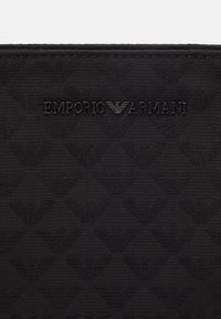 Emporio Armani - MESSENGER BAG UNISEX - Across body bag - black - 6