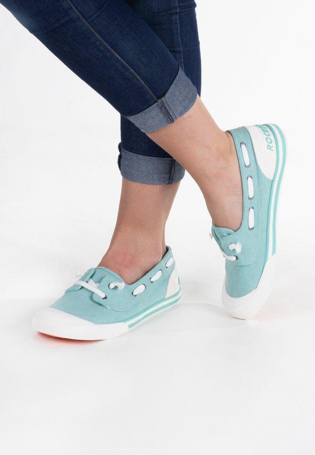 Chaussures bateau - mint