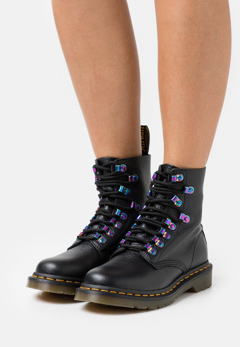 Dr. Martens - 1460 PASCAL - Lace-up ankle boots - black aunt sally