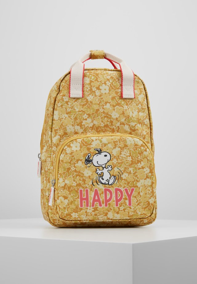 SNOOPY - Rucksack - yellow