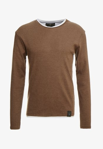 SARASOTA ROUND - Jumper - mocca brown