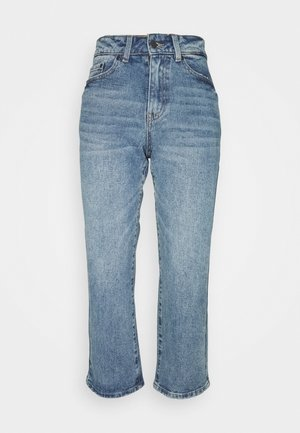 OBJMOJI JEANS PETIT - Relaxed fit jeans - medium blue denim