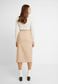 EDITED - STEPH SKIRT - Jupe crayon - camel - 2
