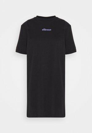 JORDAN - Jerseyklänning - black