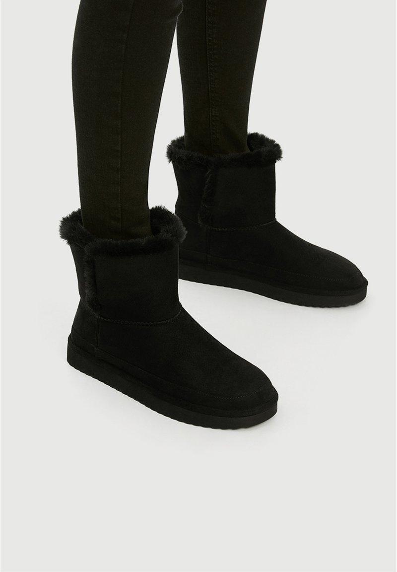 PULL&BEAR - Winter boots - black