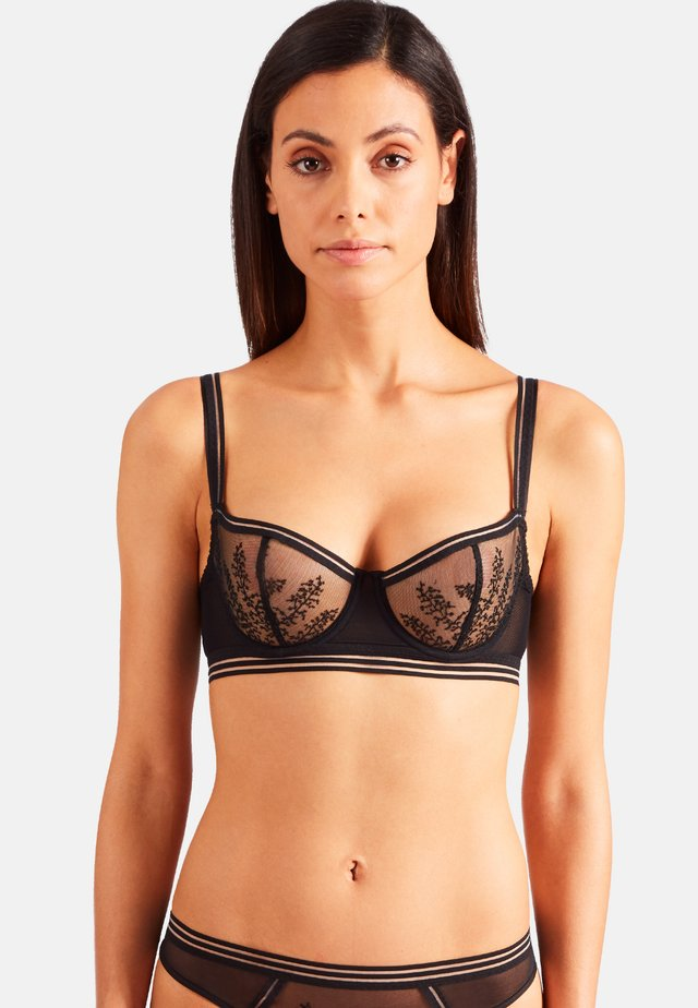 JARDIN ÉPHÉMÈRE - Push-up bra - black