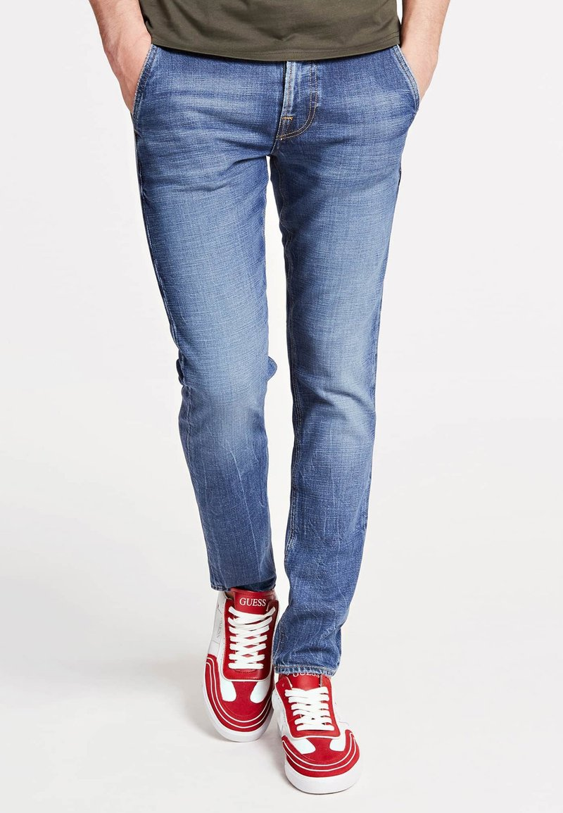 Guess - Jeans Skinny Fit - himmelblau
