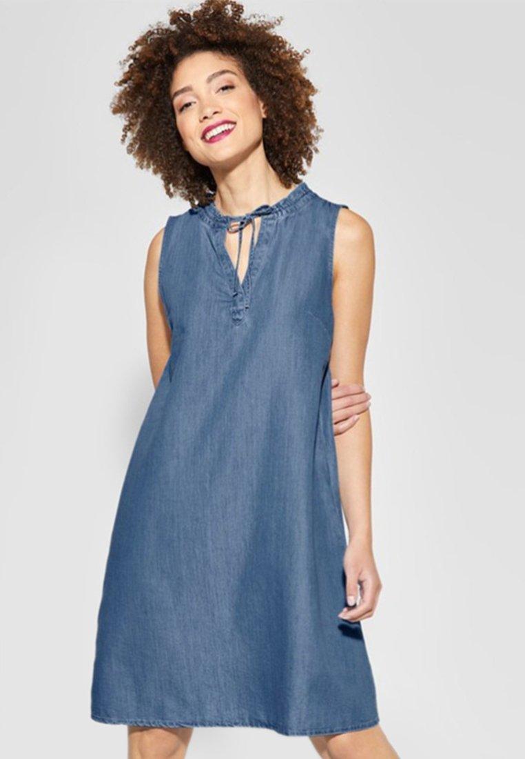 Street One - Denim dress - blue