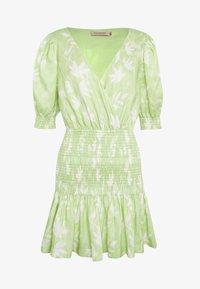 Bec & Bridge - WINDSWEPT MINI DRESS - Vapaa-ajan mekko - green - 4
