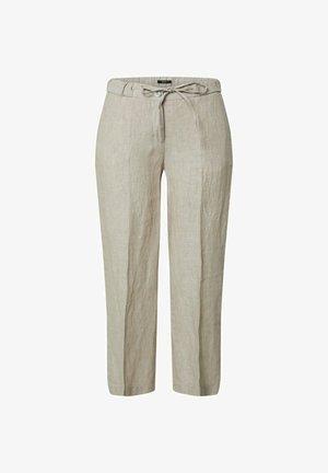 MARITTA - Trousers - creamy camel
