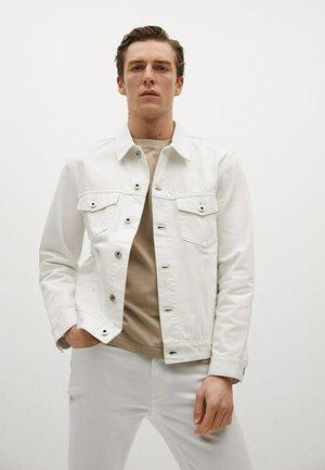Denim jacket - weiß