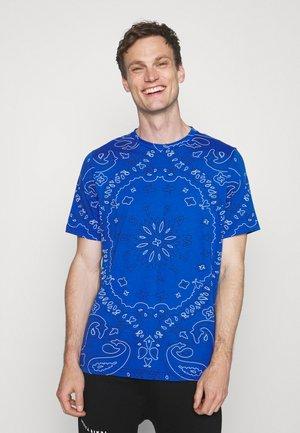 BANDANA - Printtipaita - blue