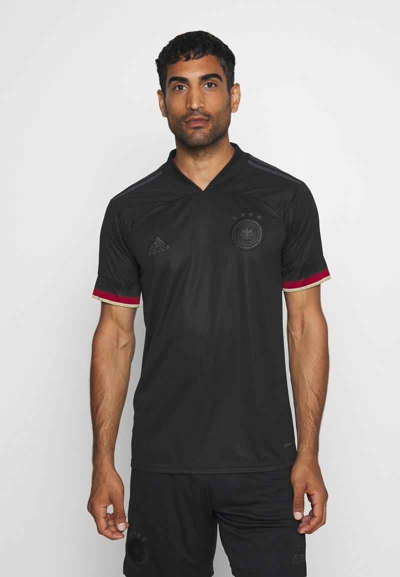 adidas Performance - DFB DEUTSCHLAND A JSY  - National team wear - black/carbon