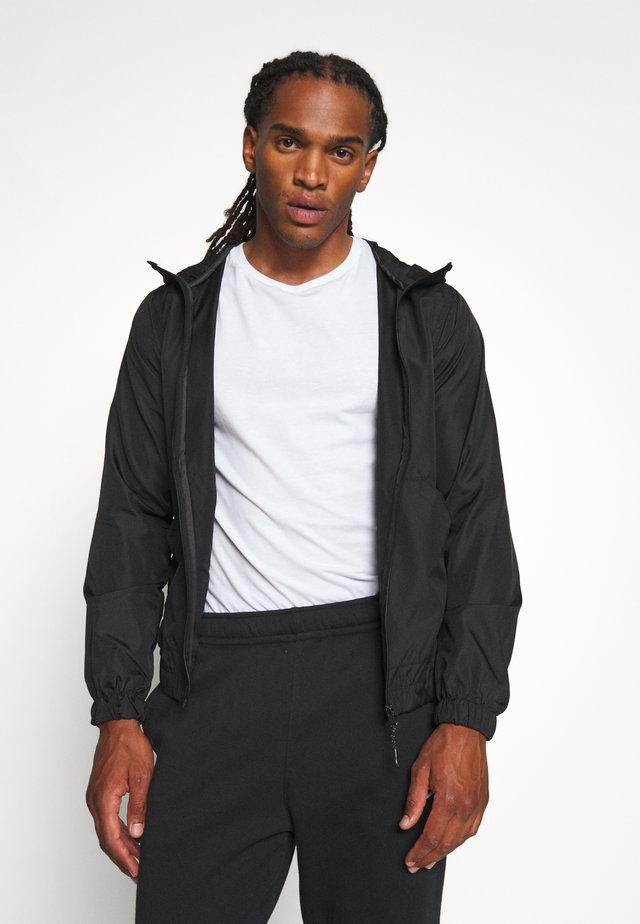 ASH - Lehká bunda - black