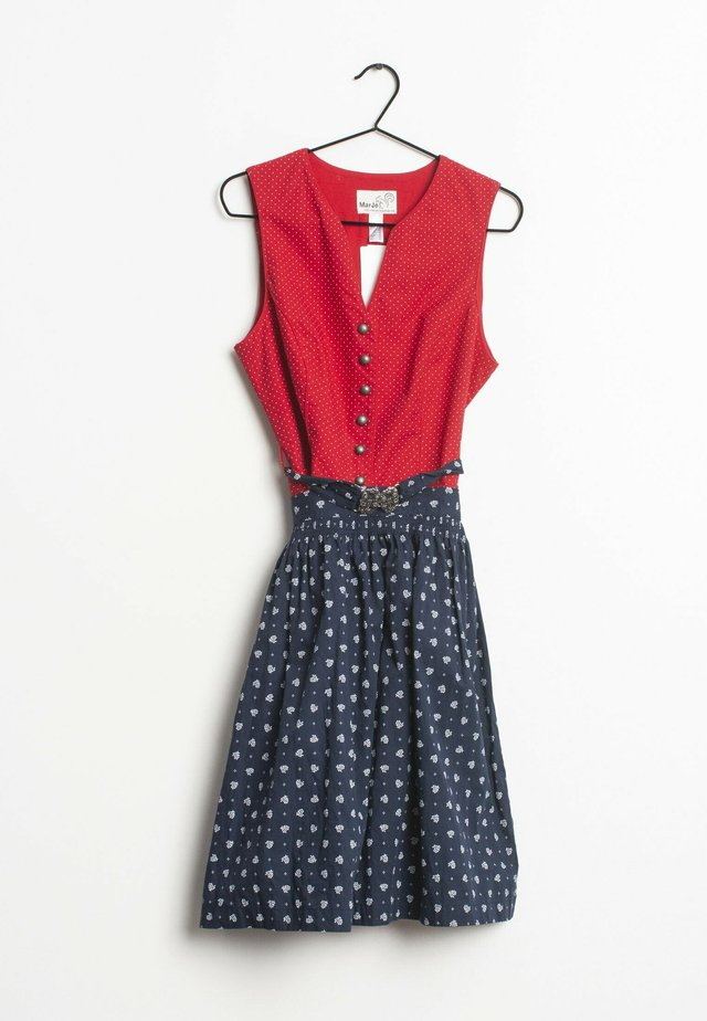 Blousejurk - red/blue