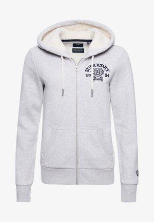 PRIDE IN  - Zip-up sweatshirt - glacier grey marl