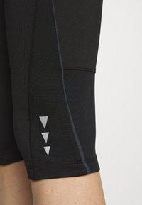 CMP - WOMAN PANT - 3/4 sportsbukser - black asphalt - 4