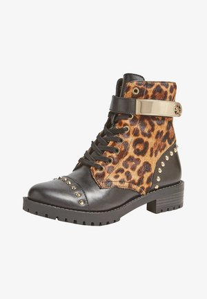 HALEIGH  - Lace-up ankle boots - brown