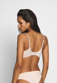 Marks & Spencer London - TOTAL CORE NONWIRED - Triangle bra - almond - 2
