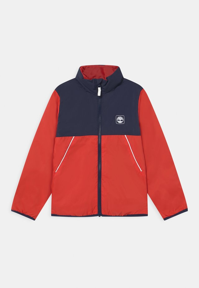 HOODED - Light jacket - red
