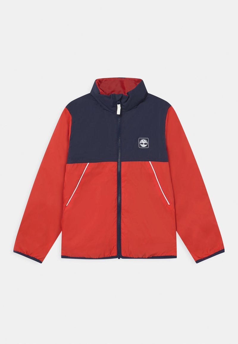 Timberland - HOODED - Lehká bunda - red
