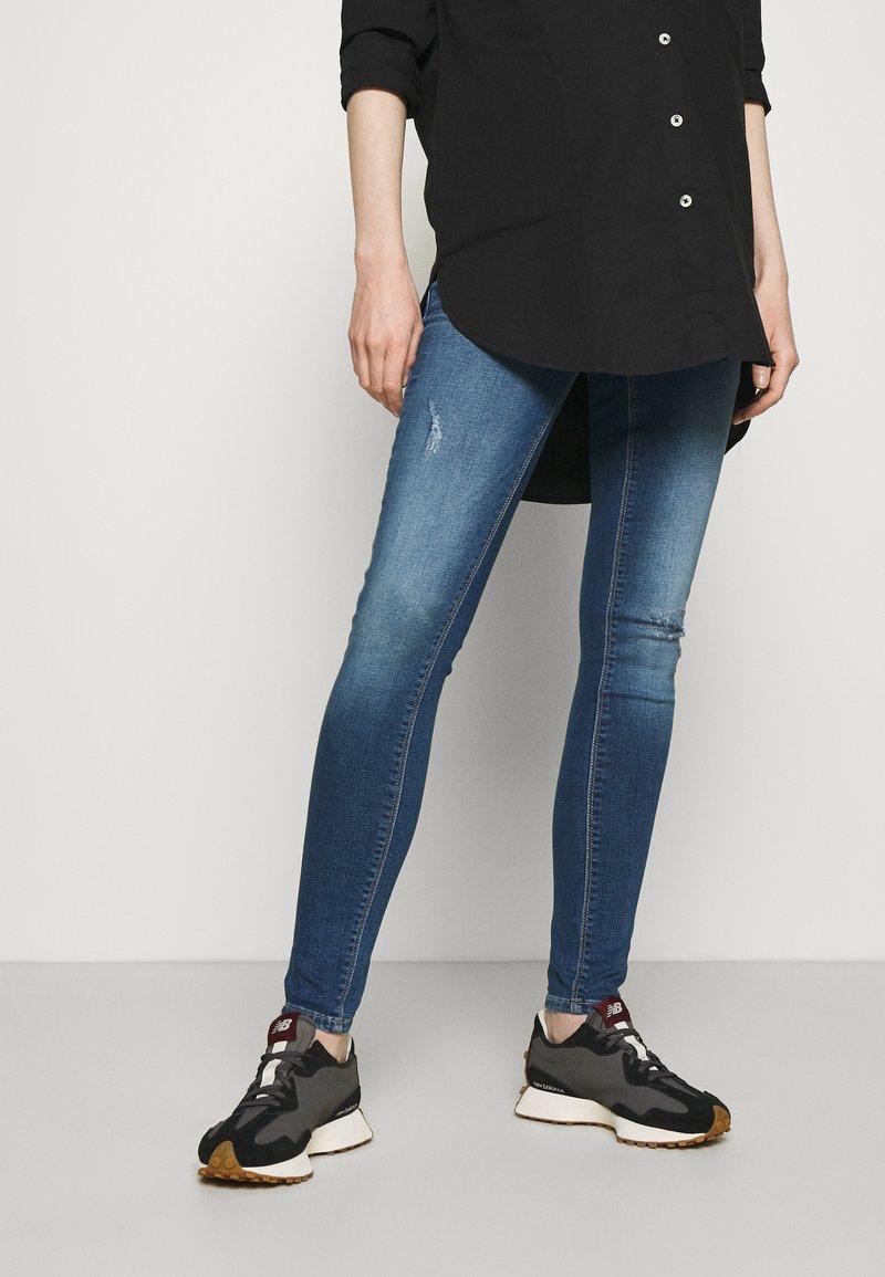 ONLY - OLMPAOLA LIFE - Jeans Skinny Fit - medium blue denim