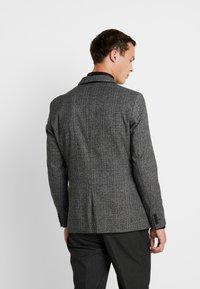 Esprit Collection - CHECK BLAZER - Blazer jacket - dark grey - 2