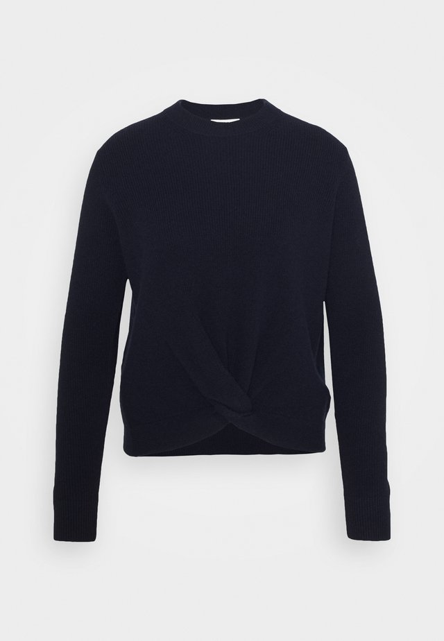 TWIST FRONT - Jumper - navy