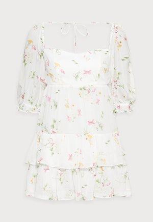 JANINE SWEETHEART PETITE MINI DRESS - Korte jurk - nude