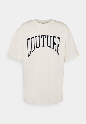 FLOCK VARSITY  - T-shirt med print - cream