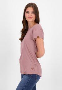 alife & kickin - Basic T-shirt - plum - 3