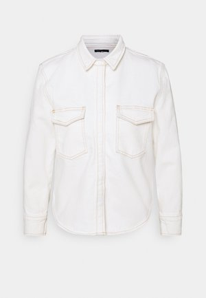 SHRUNKEN - Button-down blouse - ecru denim