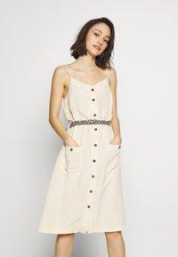 Ragwear - ANTOLIA DRESS - Day dress - off white - 0