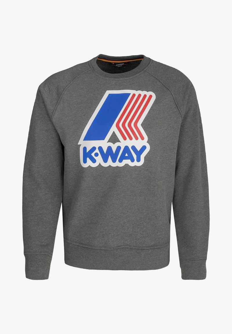 K-Way - EMANUEL - Sweatshirt - md grey mal