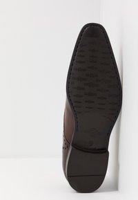 Giorgio 1958 - Elegantní šněrovací boty - terra - 4