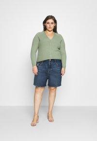 Levi's® Plus - 501 ORIGINAL SHORT - Denim shorts - charleston outlasted - 1